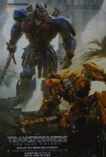 TRANSFORMERS - A3 Poster (ca. 42 x 28 cm) - Film The Last Knight Clippings NEU