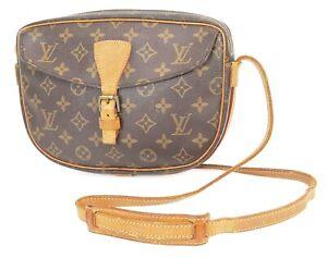 Authentic LOUIS VUITTON Jeune Fille MM Monogram Crossbody Shoulder Bag #35112