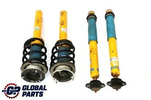 BMW 3 E90 Bilstein Front Rear Left Right N/O/S Suspension Strut Coil Spring Set