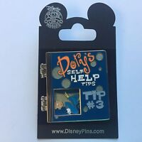 DLR - Dory's Self Help Tips - Tip #3 Finding Nemo Disney Pin 54915