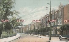 English Postcard. West Side, Clapham Common, Wandsworth. London. Mailed 1908