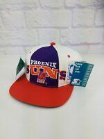 NWT Vintage NBA 1990's PHOENIX SUNS Snapback Cap Hat W. TAGS 90s Barkley VTG