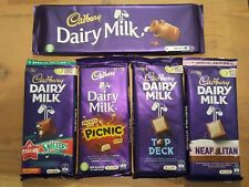 Cadbury's Dairy Milk Selection. With Sniftners, Picnic, Top Deck and Neapolitan.