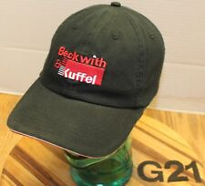 BECKWITH & KUFFEL INDUSTRIAL PUMPS HAT BLACK EMBROIDERED ADJUSTABLE VGC G21
