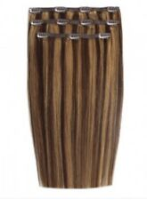 """Beauty Works 18"""" 140gram Deluxe Clip In Extensions - Blondette"""
