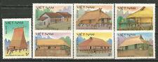 Vietnam Scott #1648-1654 ( ) Mng Building Typical 1986