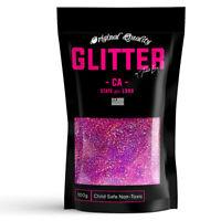 Pink Holographic Premium Glitter Multi Purpose Dust Powder 100g / 3.5oz