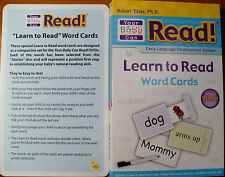 Your Baby Can Read! Early Language Development System LIKENEW Starter Set