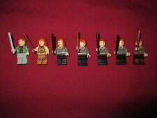 LEGO Harry Potter Minifigures LOT Weasley Family.Arthur,Molly,Fred,George,Ginny,