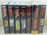 Lot of 6 Atari Jaguar Games NEW Sealed Team Tap wolfenstein pitfall ruiner iron