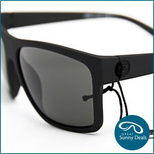NEW Von Zipper Dipstick Black Satin Grey (SMSDIP-BKS) Sunglasses