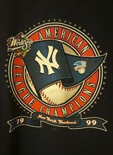 1999 World Series American League Champions PRE-OWNED Size XL T-Shirt
