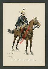 Myrbach Corporal 11. Husaren-Rgt. Windisch-Grätz Uniform Säbel Wappen Adel 1888