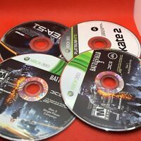 (12) Console Video GAMES Loose CD Disc Discs Lot - FOR REPAIR - Wii XBOX 360 PS2