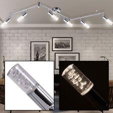 24W LED Spot Leiste Chrom Decken Lampe Licht Schiene Galerie Leuchte Luftblasen
