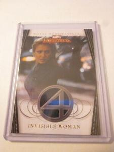 UD MARVEL MASTERPIECES JESSICA ALBA MOVIE MEMORABILIA COSTUME CARD RELIC 2008