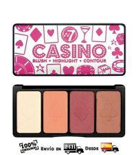 W7 Casino Paleta de Colorete Iluminador y Contorno 16gr