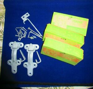 """LARGE LOT OF 3 COMPLETE SETS OF STORM WINDOW HANGERS AND FASTENERS BY """"ETASCO """""""