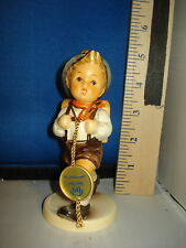 Hummel School Boy 60th Anniversary German Porcelain 4 inches #1326 Cab 2