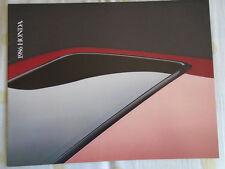 Honda range brochure 1986 USA market