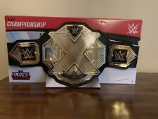WWE NXT World Championship Title Mattel Kids Toy Belt Wrestling  New Logo