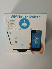 1 Gang Smart WiFi Wireless Panel Touch Switch Wall Light Remote Control