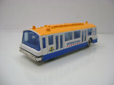 Diecast Airport Transfer Bus 1:87? in White/Yellow Very Good Condition