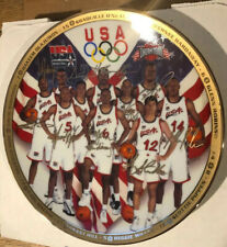 """Sports Impressions Collector's Plate First 10 Chosen USA Basketball w/COA 8 1/2"""""""
