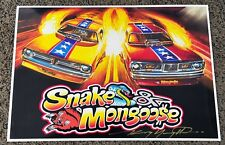 NEW KENNY YOUNGBLOOD SIGNED THE MONGOOSE SNAKE FUNNY CARS HOT WHEELS PRINT