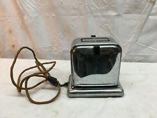 "Vintage 1940s Chrome Side Door Electric  TOASTER ""Toast Queen Parts Repair"
