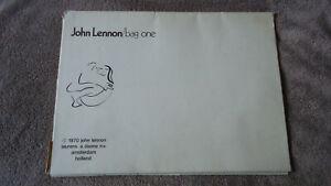 JOHN LENNON - BAG ONE PORTFOLIO - ALL 15 PRINTS - AMSTERDAM - EXCELLENT SHAPE!!
