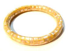 Bijou bracelet jonc lucite nacrée bangle
