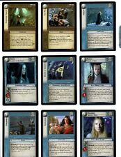 LORD OF THE RINGS LoTR ENTS OF FANGORN EoF COMPLETE SET OF 128 CARDS PLUS MORE