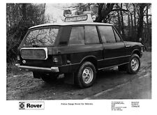 Range Rover Police press print