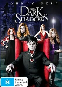 Dark Shadows DVD Johnny Depp Movie - SAME / NEXT DAY POSTAGE from SYDNEY