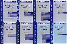 2000 Subaru Legacy and Outback Repair Shop Manual Set