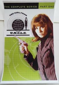 NEW WB Archive Collection Reproduction THE GIRL FROM U.N.C.L.E. Poster