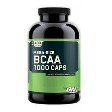 Optimum Nutrition BCAA 1000 mg Amino Acids 400 capsules