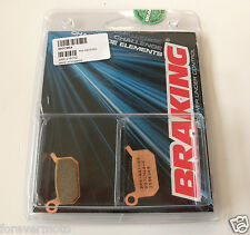 BRAKING 1 COPPIA PASTIGLIE FRENO ANTERIORE CM44 KTM SX 50 2009 2010 2011
