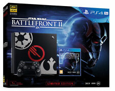 Sony PlayStation 4 Pro STAR WARS: Battlefront II Limited Edition Bundle, 1TB, Black Console