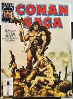 Conan Saga  #49, Marvel Comics - Apr. 1991 - FN+