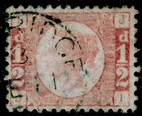SG49, ½d rose plate 1, FINE USED, CDS. Cat £95. JI