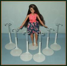 "6 Kaiser Doll Stands for NEW Curvy Body Barbie FASHIONISTA 12"" SHIRLEY TEMPLE"