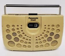 Panasonic Rs-833S Portable Stereo 8-Track Player~Swiss Cheese *Works* With Cord
