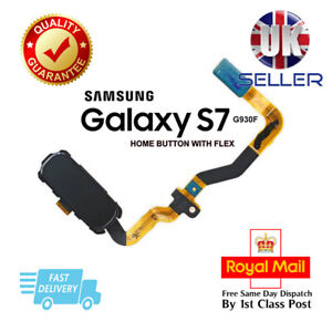 Replacement Main Home Button Flex Cable For Samsung Galaxy S7 G930F Black