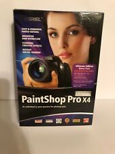 Corel Paintshop Pro X4 Ultimate Photography Photo Editing Software PSPX4ULENMB