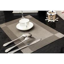 Table Mats Stain Resistant Heat Insulation Non-Slip Washable Placemat TO