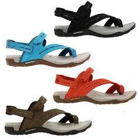 Merrell Terran Convertible Womens Black Brown Walking Sandals