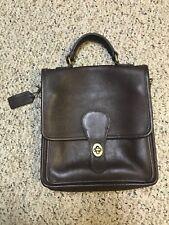 AUTHENTIC Vintage Coach Dark Brown WILLIS Crossbody Bag Purse # 9927