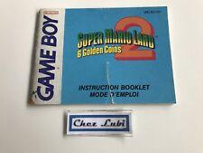 Notice - Super Mario Land 2 - Nintendo Game Boy - PAL FAH